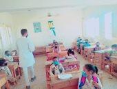 """""""الثقافة الصحية"""" تواصل ندوات التوعية بمخاطر """"كورونا"""" داخل المدارس فى أسوان"""