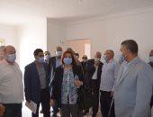 رئيس صندوق الإسكان الاجتماعى تتفقد مشروعات الإسكان بمدينة العاشر من رمضان