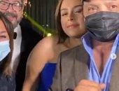 هنيدى بالكمامة فى حفل زفاف هنادى و أحمد خالد صالح والصاوى يقبل يد العروس