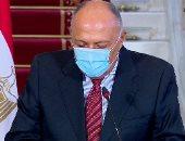 وزيرا خارجية مصر وألمانيا يرفضان التدخلات الخارجية فى ليبيا