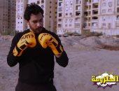 """مباراة ملاكمة مفتوحة فى شوارع مصر.. وطفلة صغيرة تضرب الملاكم في """"الحلزمة"""""""
