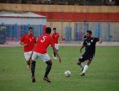 النصر يفوز علي العبور بهدف بابا ابراهيم إستعداداً للقسم الثاني