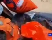هليكوبتر تلقى مساعدات على المتضررين من العاصفة إيتا فى جواتيمالا.. فيديو