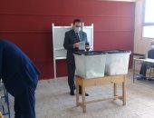 نقيب المهندسين يدلى بصوته بانتخابات النواب ويشيد باإجراءات الاحترازية.. صور