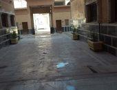 الوحدة المحلية بمركز ملوى المنيا تواصل أعمال الرش والتطهير بديوان الوحدة