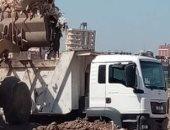 رفع 600 طن قمامة بحى شرق شبرا الخيمة ومتابعة منظومة النظافة بالخصوص