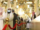 المسجد النبوي يستقبل الدفعة الأولى من معتمري الخارج(صور)