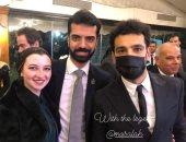 صور جديدة من ظهور محمد صلاح فى حفل زفاف شقيقه