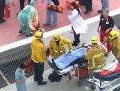 """تحطم مروحية على سطح مستشفى تحمل قلب """"مُتبرع به"""" لمريض.. فيديو"""