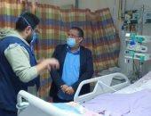 رئيس جامعة القناه يفاجئ المستشفيات الجامعية بزياره ليلية