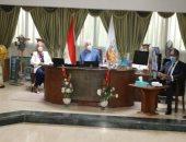 تعرف على اجتماع محافظ جنوب سيناء بالمجموعة الإقتصادية
