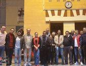 """اليوم السابع فى كواليس البروفات النهائية لمسرحية """"الوصية"""" للمخرج خالد جلال"""