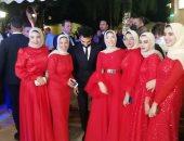 صور جديدة من حفل زفاف شقيق محمد صلاح