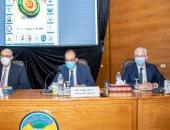 أمين المجلس الأعلى للجامعات: أفتخر بتواجدى فى جامعة طنطا قلب الدلتا النابض