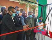 افتتاح أعمال تطوير مدرسة إقليت الابتدائية فى أسوان بتكلفة مليون جنيه.. صور وفيديو
