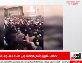 لحظة موجعة.. تشييع طفلة قتلها جارها بسبب الحلق فى نشرة منتصف اليوم