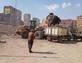 رفع 70 طن مخلفات بنفق الفكهانية وأبو زارع بالعمرانية وإشغالات بالطالبية