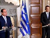 تفاصيل المؤتمر الصحفى المشترك للرئيس السيسى ورئيس وزراء اليونان.. فيديو