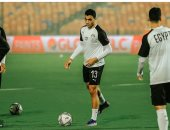 مصطفى محمد يزاحم كوكا على قيادة هجوم المنتخب أمام توجو الليلة