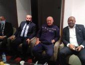 أبور يدة يظهر في مباراة ليبيا وغينيا الاستوائية باستاد السلام