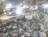 محافظ القليوبية يستجيب لشكوى انتشار القمامة فى ميدان بهتيم بحى شرق شبرا الخيمة