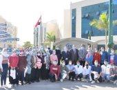 قافلة جامعة كفر الشيخ الطبية تعالج 1720 حالة بقرية برج مغيزل والقرى المجاورة