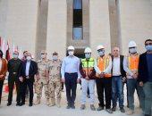 وزير السياحة والآثار يتفقد المبنى الإدارى الجديد للوزارة بالعاصمة الإدارية