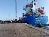 شحن 3100 طن صودا كاوية وتداول 25 سفينة بموانئ بورسعيد