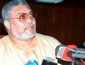وفاة رئيس غانا السابق جيرى رولينجز عن 73 عاما