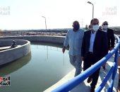 رئيس الوزراء يتفقد مشروع إنشاء محطة ترشيح المياه السطحية بمنطقة الكاب