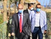 سفير جوروجيا يزور الغردقة ويلتقى بالمسئولين ويشيد بالإجراءات الاحترازية.. صور