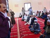 محافظ أسوان يعقد لقاءً جماهيريًا للاستماع لمطالب أهالى سلوا بحرى.. صور
