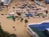 لقطات جوية جديدة تظهر غرق الفلبين فى فيضانات إعصار فامكو.. فيديو
