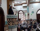 وكيل أوقاف سوهاج يفتتح مسجد أولاد خبزة فى طما ضمن خطة إعمار بيوت الله