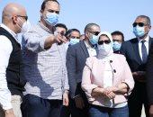 وزيرة الصحة تتفقد أعمال إنشاء مستشفى الطور الجديد بتكلفة 750 مليون جنيه