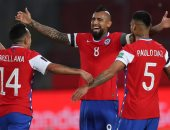ثنائية فيدال تقود تشيلى لأول فوز بتصفيات كأس العالم على حساب بيرو.. فيديو
