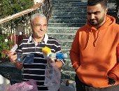 توزيع أدوية زنك ومطهرات وكمامات بنجريج على المخالطين لمحمد صلاح.. صور