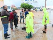 شركتا مياه وصرف الإسكندرية :الانتهاء من شفط مياه الأمطار واستمرار الطوارئ