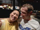 مؤسس فيس بوك يحتفل بمرور 17 عاما على أول لقاء مع زوجته