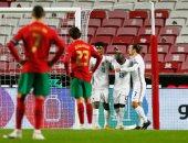 فرنسا تعبر لنصف نهائى دوري الأمم الأوروبية بهدف ضد البرتغال.. ألبوم صور