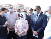 وزيرة الصحة: 13 وحدة و4 مستشفيات ضمن المرحلة الأولى للتأمين الشامل بجنوب سيناء