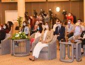 وزيرة الهجرة للشباب الدارسين بالخارج: نحملكم مسئولية الترويج لمصر والرد على الأكاذيب.. صور