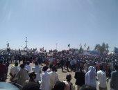 احتفالات شعبية وفواصل غنائية فى استقبال قيادات أطراف اتفاق السلام بالسودان