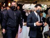 حارس محمد صلاح: الكمامة مفارقتناش فى الفرح وكل ما يسلم على حد كنت برشله كحول
