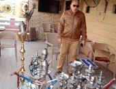 حى البساتين بالقاهرة يغلق كافيهات مخالفة تقدم الشيشة.. صور