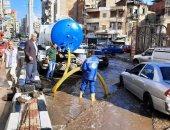 شفط مياه الأمطار بشوارع الدقهلية.. والمحافظ يوجه بالاستعداد لأى أحداث طارئة