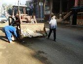 محافظ الغربية يتابع استمرار تكثيف أعمال النظافة ورفع تجمعات القمامة.. صور