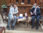 محافظ شمال سيناء يلتقى رئيس قطاع الحسابات بالمديريات المالية
