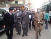 محافظ كفر الشيخ : تحويل شارع إبراهيم المغازي لاتجاه واحد ورفع الإشغالات