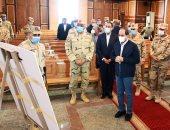 السيسى يتفقد مقر قيادة الدولة الاستراتيجى بالعاصمة الإدارية الجديدة